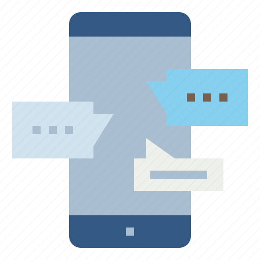 Chat, conversation, message, mobile, phone, sms icon - Download on Iconfinder