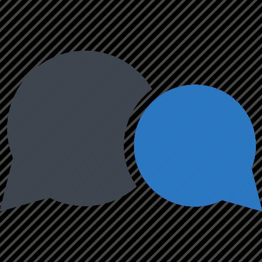 bubble, bubbles, chat, speech icon