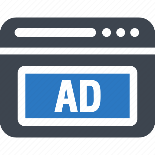 ad, advertising, popup, website icon