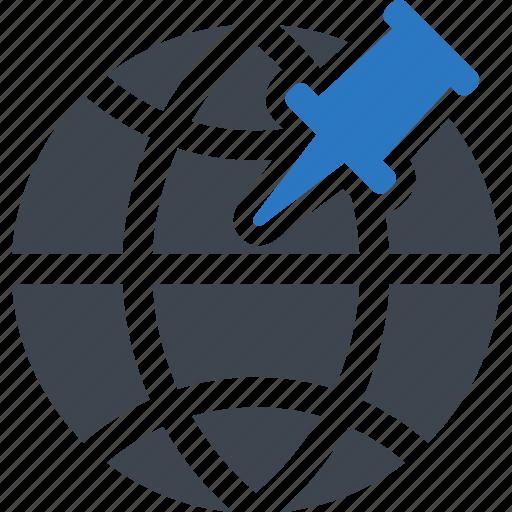 geo, global, location, targeting icon