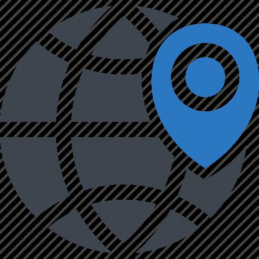 business, local, location, marketing icon