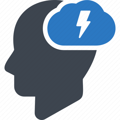 brainstorm, brainstorming, concept, flash, idea icon