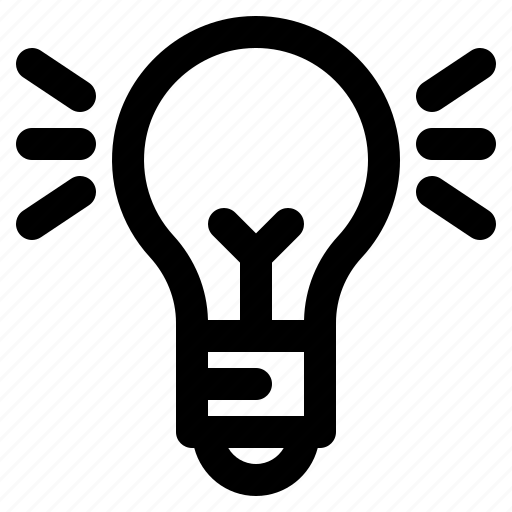 bulb, business, creativity, idea, marketing icon