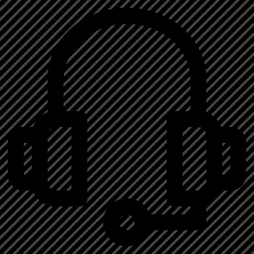 headphone, headset, help, marketing, support icon