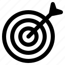 archery, business, dart, marketing, target icon