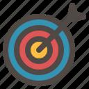 archery, business, dart, target