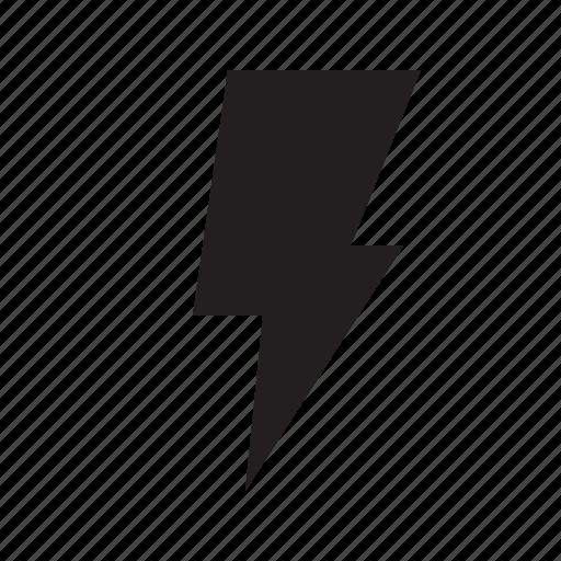 bolt, flash, lightening, power icon