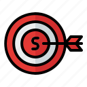 business, cart, finance, marketing, shopping, serve, growth icon