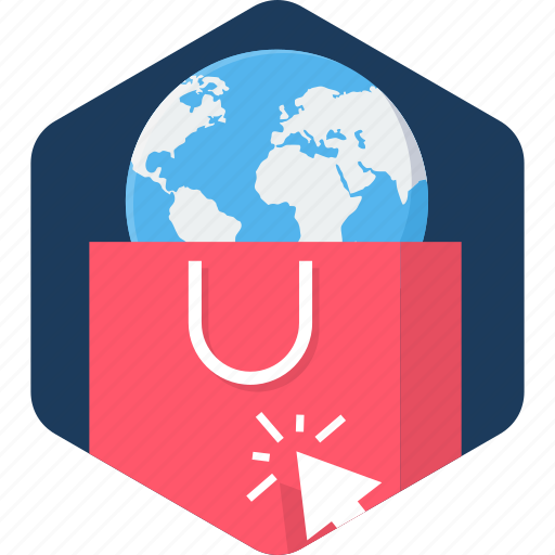 abroad, internet, online, sale, seo, shopping, web icon