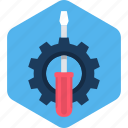 configuration, gear, options, screw, setting, settings, tool icon