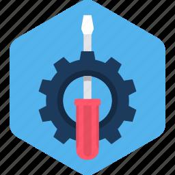 configuration, gear, options, screw, setting, settings, tool icon