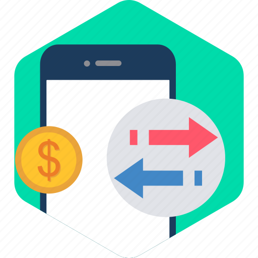 Mobile, receive, send, upload, pay, payment, salary icon - Download on Iconfinder