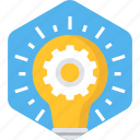 bulb, electric, electricity, energy, idea, light, power icon
