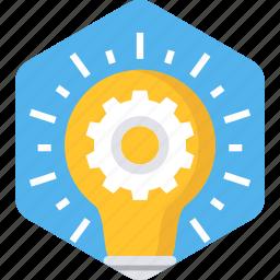 bulb, electric, electricity, energy, idea, light, power icon