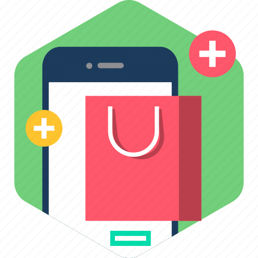 ecommerce, mobile, online, sale, shipping, shop, shopping icon