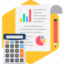 analytics, calc, calculator, chart, diagram, graph, statistics icon