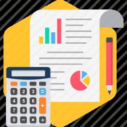 analytics, calc, calculator, chart, diagram, graph, statistics icon