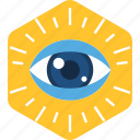 eye, eye checkup, find, look, search, view, vision icon