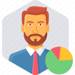 analytics, business, chart, diagram, employee, graph, statistics icon