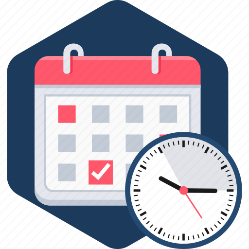 calendar, event, hour, hours, month, schedule, watch icon
