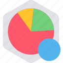 analytics, bar, chart, graph, pie, report, statistics icon