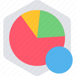 analytics, bar, chart, graph, pie, report, statistics icon