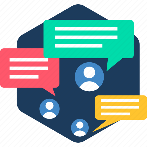 chat, communication, feedback, interaction, message, sms, users icon