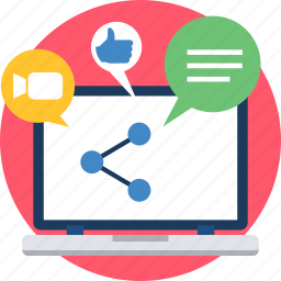 connection, link, linking, links, media, share, social icon