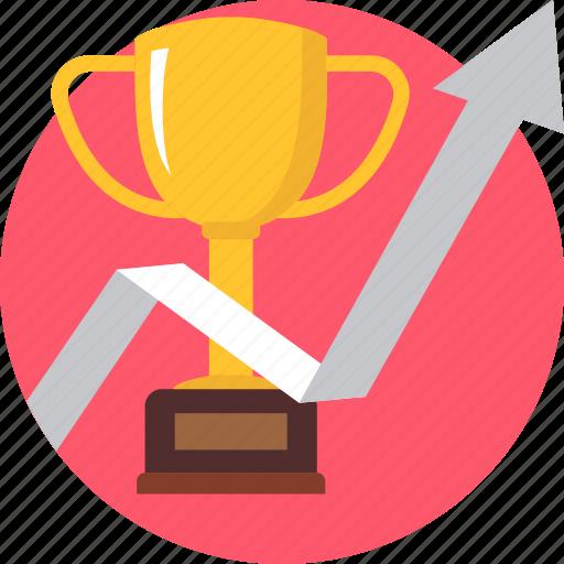 achievement, champion, cup, hike, reward, success, trophy icon