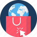 abroad, buy, click, ecommerce, sales, seo, shop icon