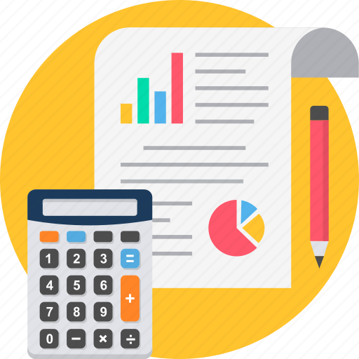 calc, calculator, data, expenses, invoice, marketing, receipt icon