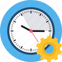 clock, hours, marketing, options, settings, timer, watch icon