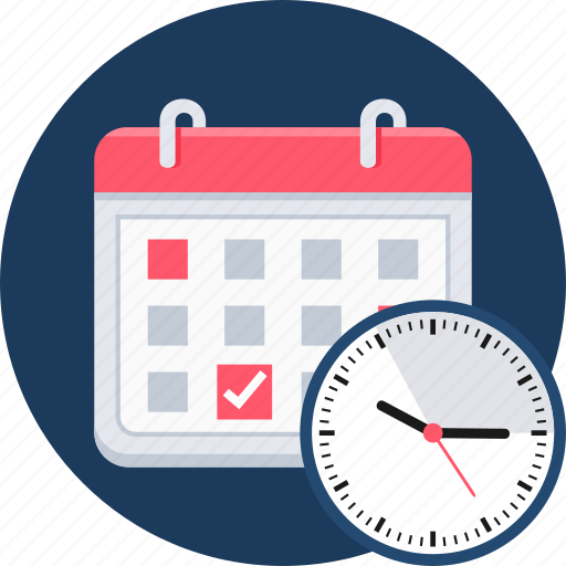 appointment, calendar, date, day, event, hours, schedule icon