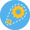 control, gear, options, process, processing, setting, settings icon
