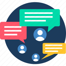 chat, communication, global, information, message, messages, sms icon