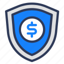 protection, safe, security, shady, shield icon