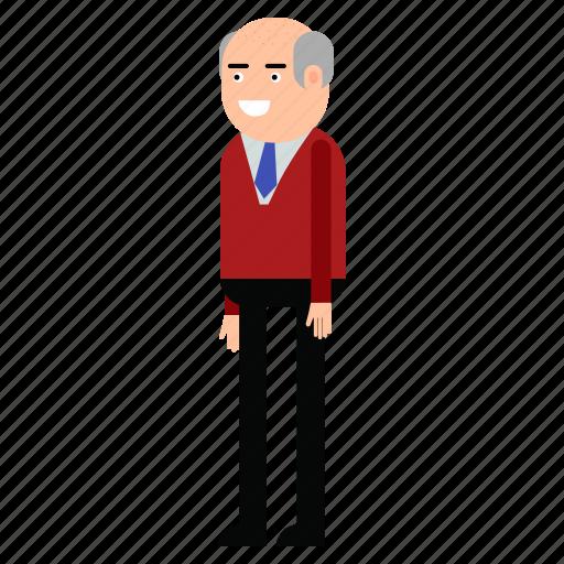 businessman, male, man, manager, suit icon