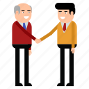 handshake, greet, agreement, people, partners