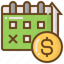 advertising, business, calendar, e-commerce, marketing, money, shopping icon