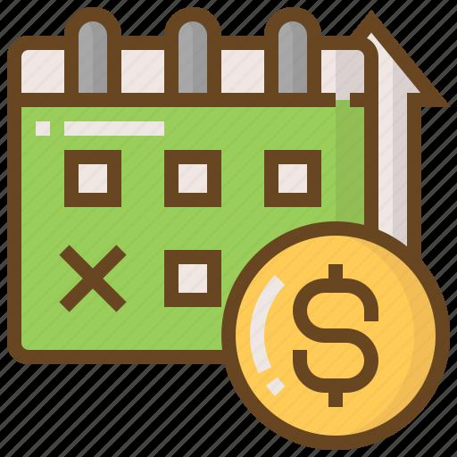 advertising, business, calendar, e-commerce, marketing, money, shopping icon