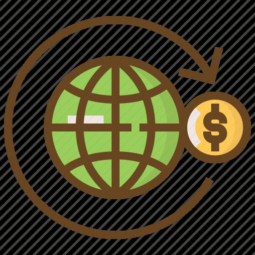 advertising, business, e-commerce, global, marketing, money, shopping icon