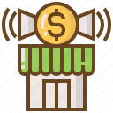 advertising, business, e-commerce, marketing, money, shop, shopping icon
