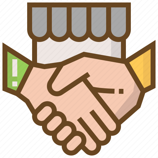 advertising, business, e-commerce, marketing, shake hand, shop, shopping icon