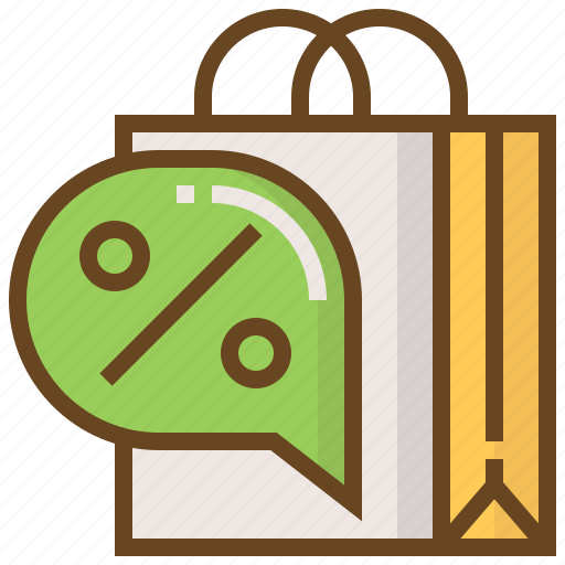 advertising, bag, business, e-commerce, marketing, sale, shopping icon