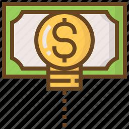 advertising, business, e-commerce, idea, marketing, money, shopping icon