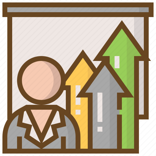 advertising, business, chart, e-commerce, marketing, present, shopping icon