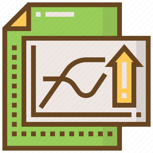 advertising, business, e-commerce, growth, marketing, paper, shopping icon