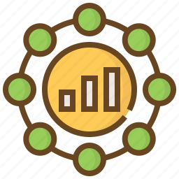 advertising, business, e-commerce, graph, management, marketing, shopping icon