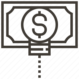 advertising, e-commerce, idea, marketing, money, payment, strategy icon