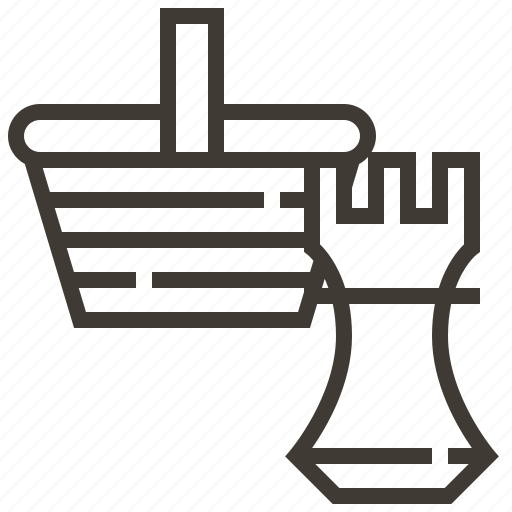 advertising, basket, e-commerce, marketing, payment, strategy icon